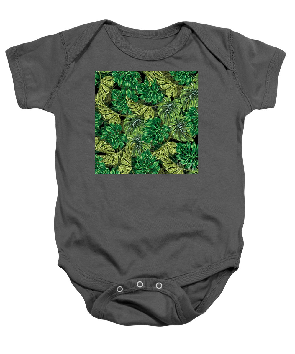Summer Baby Onesie featuring the photograph Tropical Haven 2 by Mark Ashkenazi