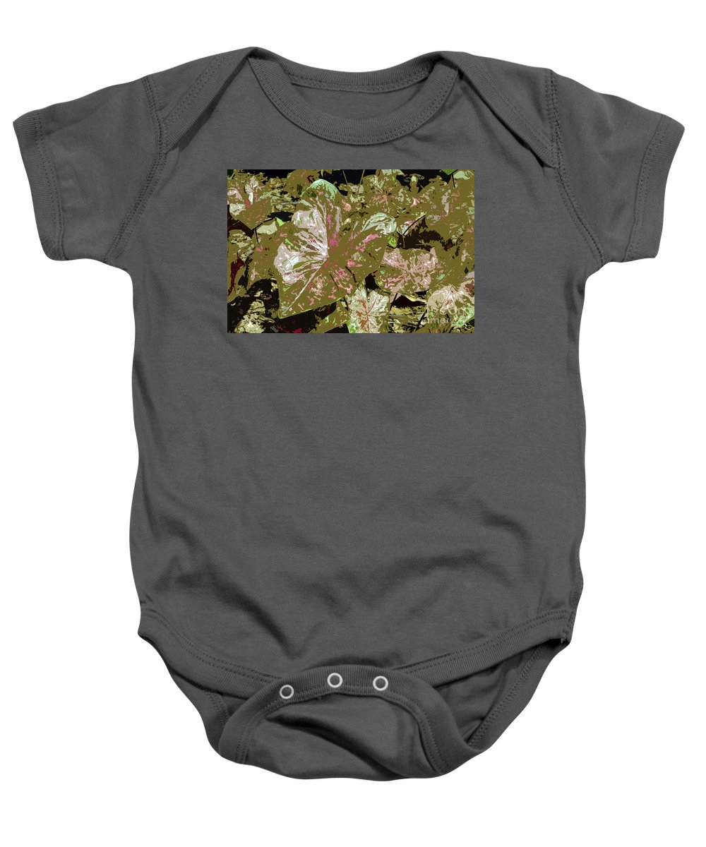 Tropical Baby Onesie featuring the photograph Tropicals by David Lee Thompson