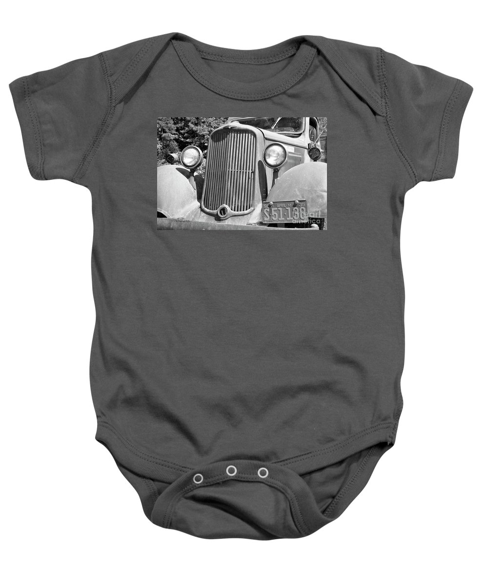 Old Baby Onesie featuring the photograph True And Tried by John R Hastings Sr