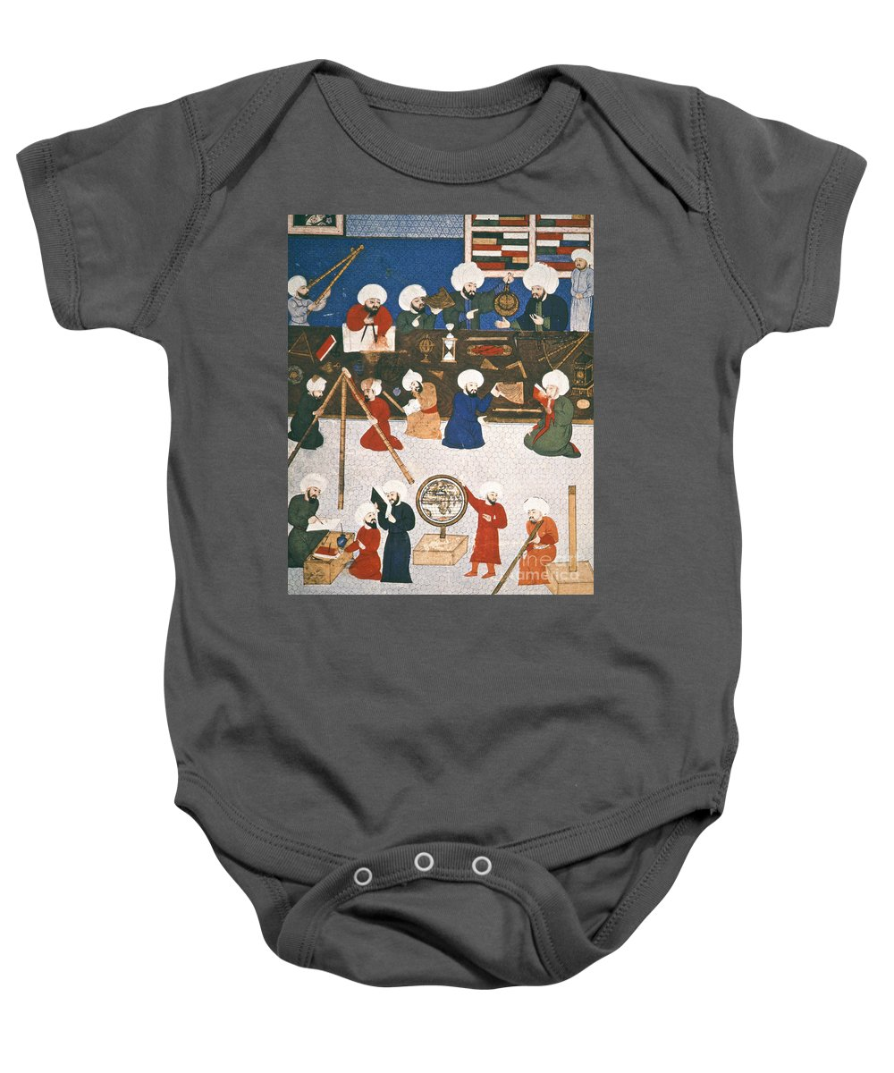 16th Century Baby Onesie featuring the photograph Turkish Astronomers by Granger