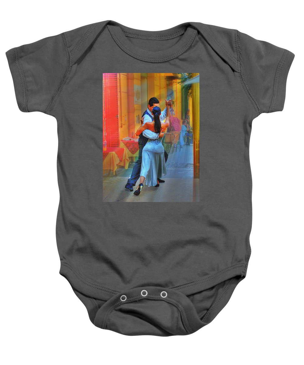 Dance Baby Onesie featuring the photograph Two Tango by Francisco Colon