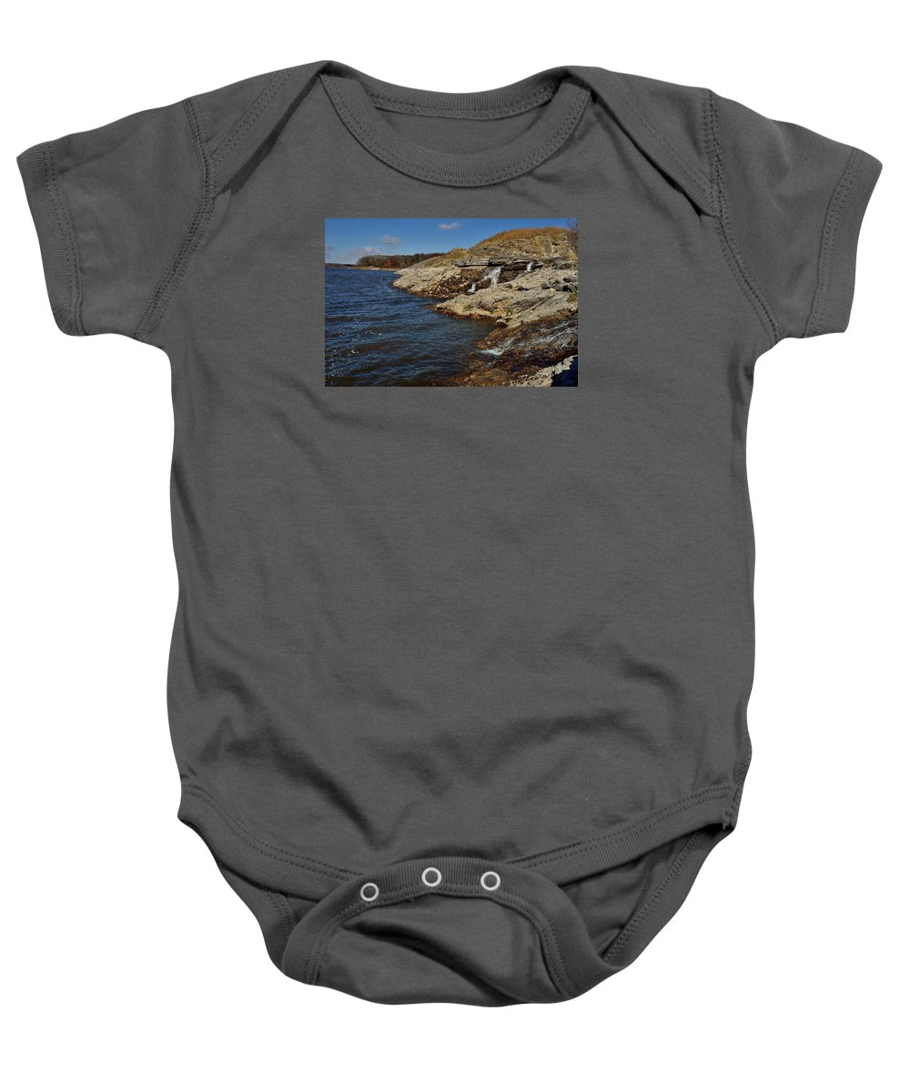 Landscape Baby Onesie featuring the photograph U Of I Mcbride Nature Area by Sherri Hasley