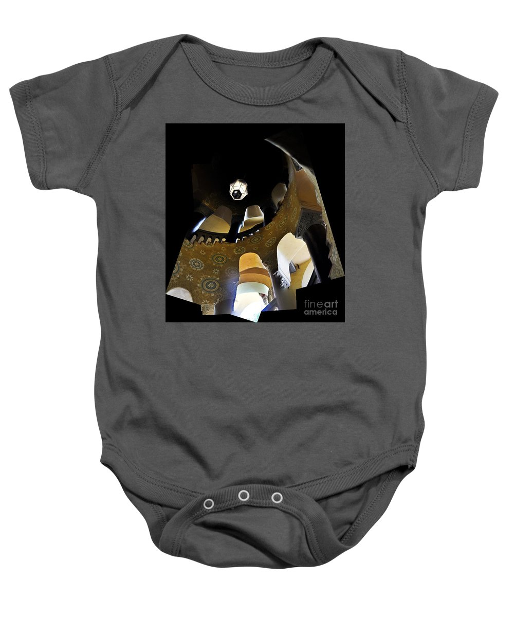 Clay Baby Onesie featuring the photograph Up by Clayton Bruster