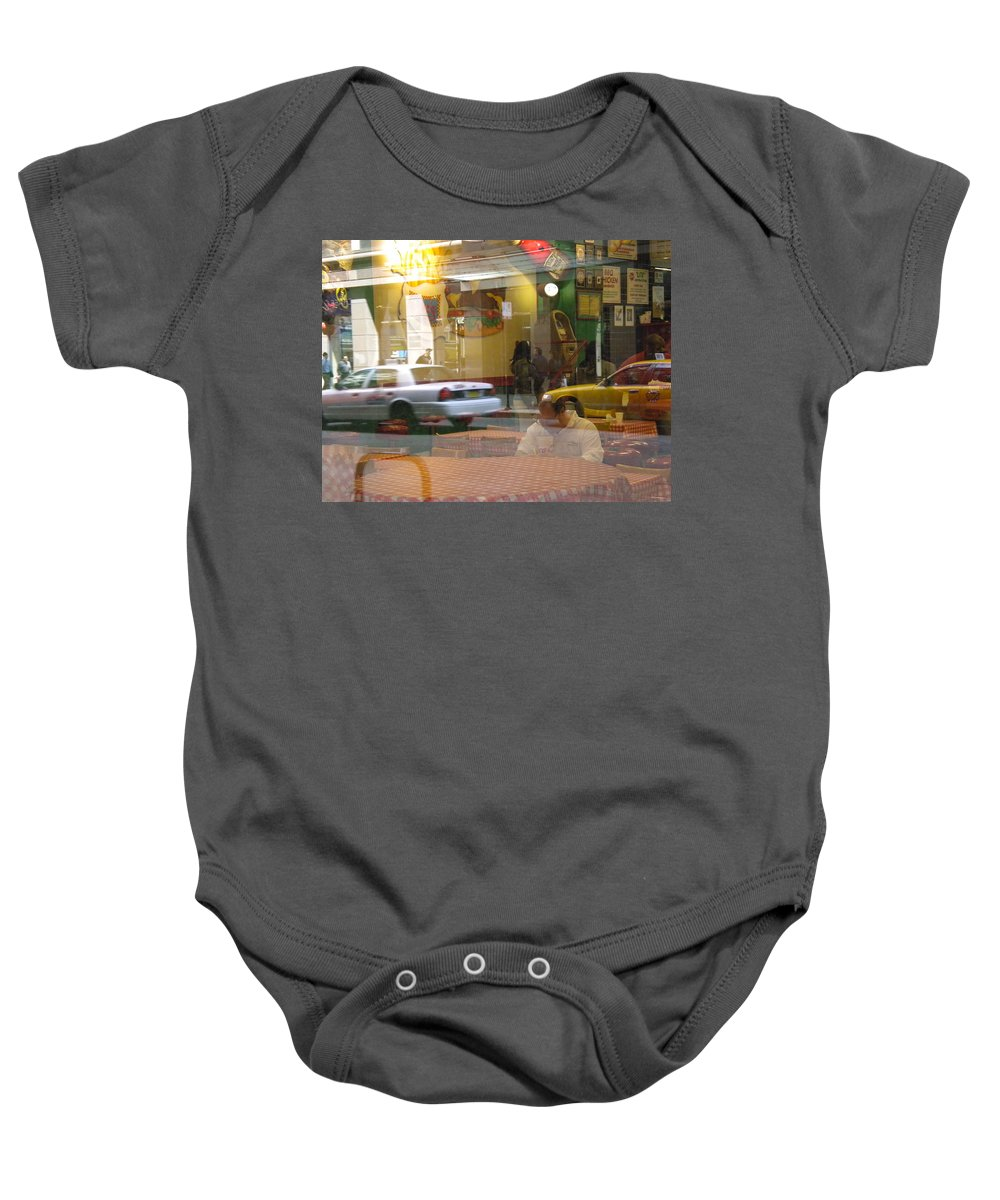 City Scene Baby Onesie featuring the photograph Urban Maze by Jan Gilmore