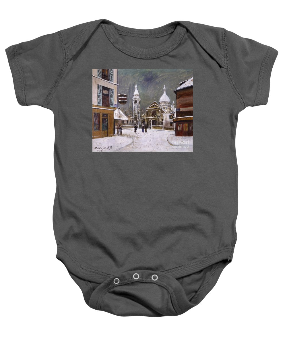 1931 Baby Onesie featuring the photograph Utrillo: Montmartre, 1931 by Granger