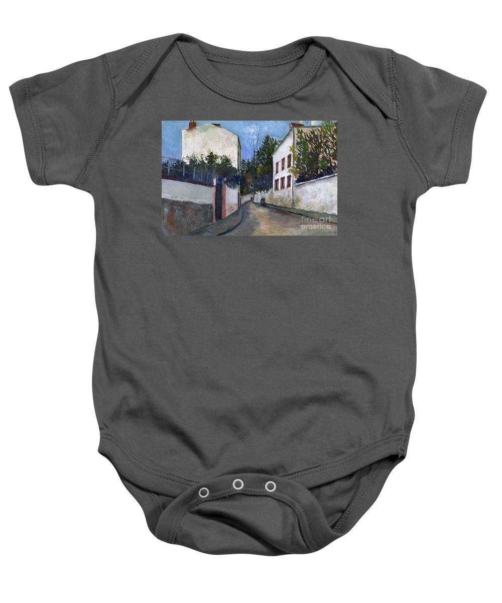 1912 Baby Onesie featuring the photograph Utrillo: Sannois, 1912 by Granger