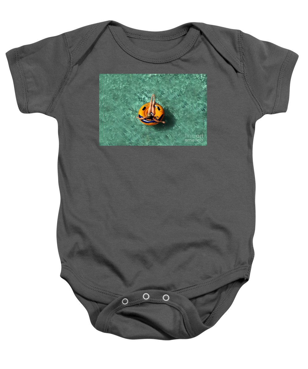 Vacation Baby Onesie featuring the photograph Vacation by David Lee Thompson