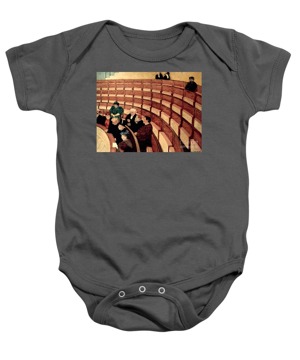 1895 Baby Onesie featuring the photograph Vallotton: Gallery, 1895 by Granger