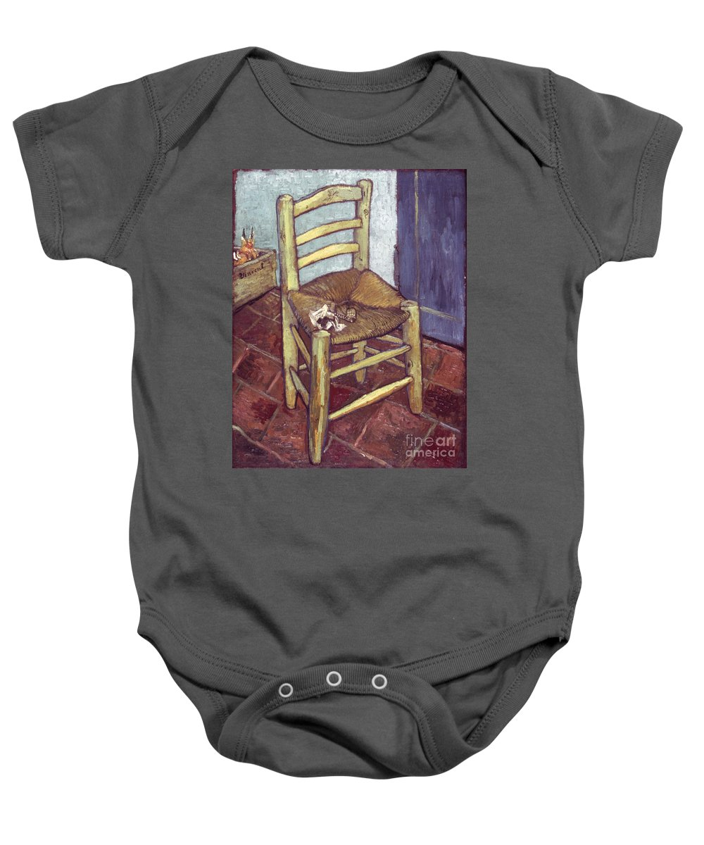 1888 Baby Onesie featuring the photograph Van Gogh: Chair, 1888-89 by Granger