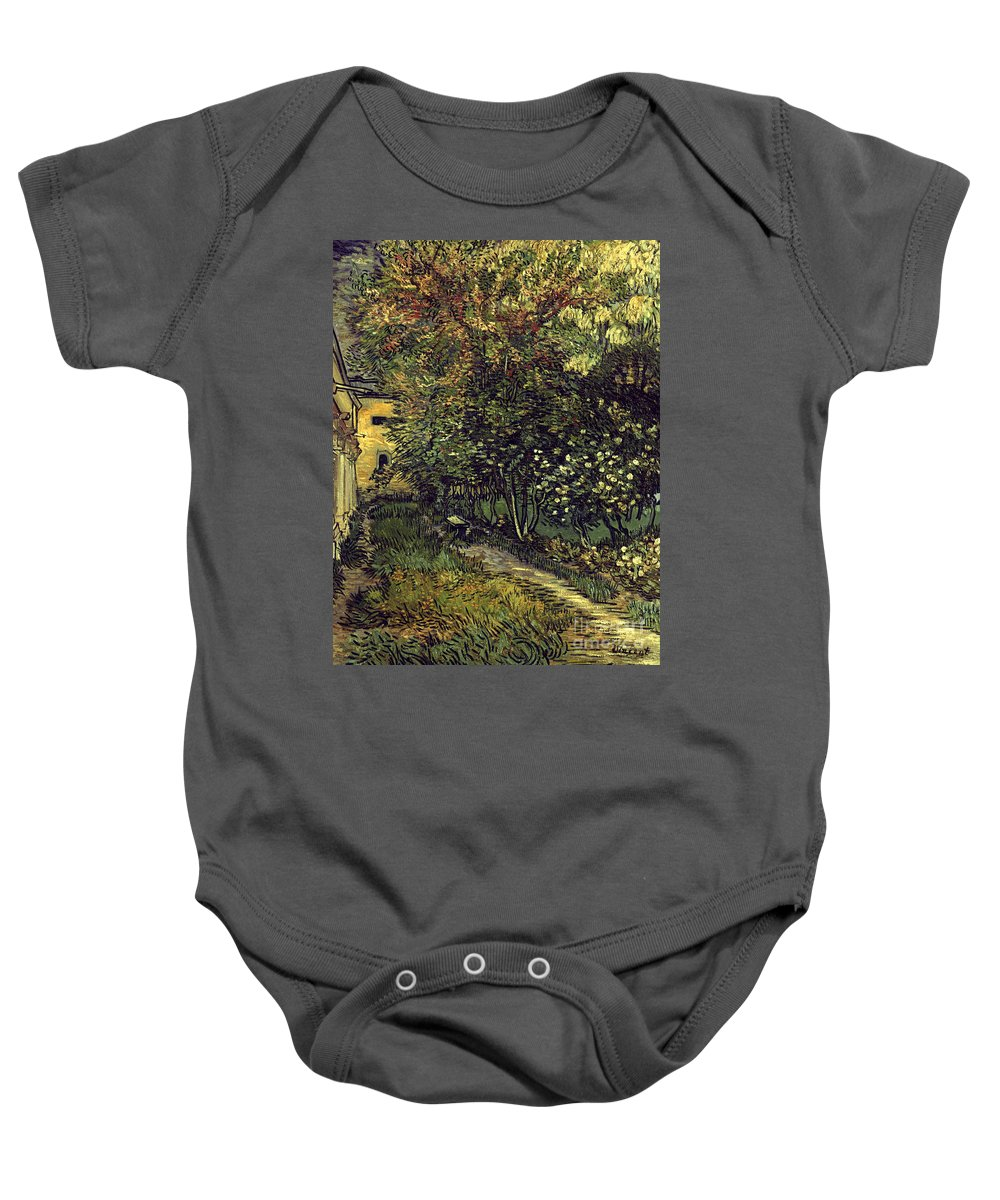 1889 Baby Onesie featuring the photograph Van Gogh: Hospital, 1889 by Granger