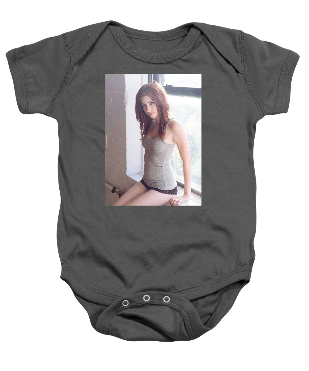 Viatropin But It Does Not Stop There. Baby Onesie featuring the photograph Viatropin by Kaimana Joy
