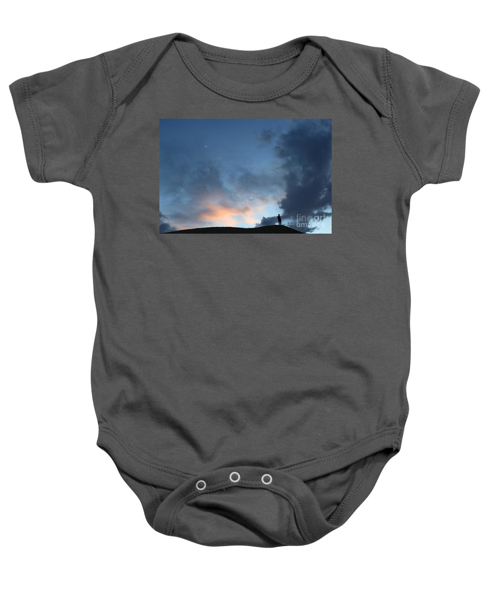 Skyscape Baby Onesie featuring the photograph Volition by Josue McLamb