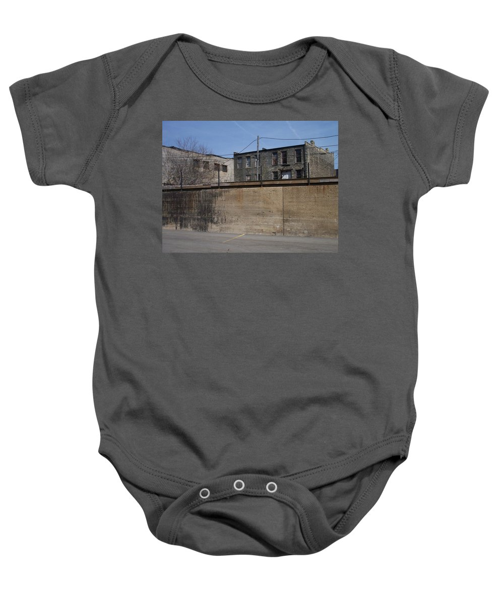 Walker's Point Baby Onesie featuring the photograph Walker's Point 1 by Anita Burgermeister