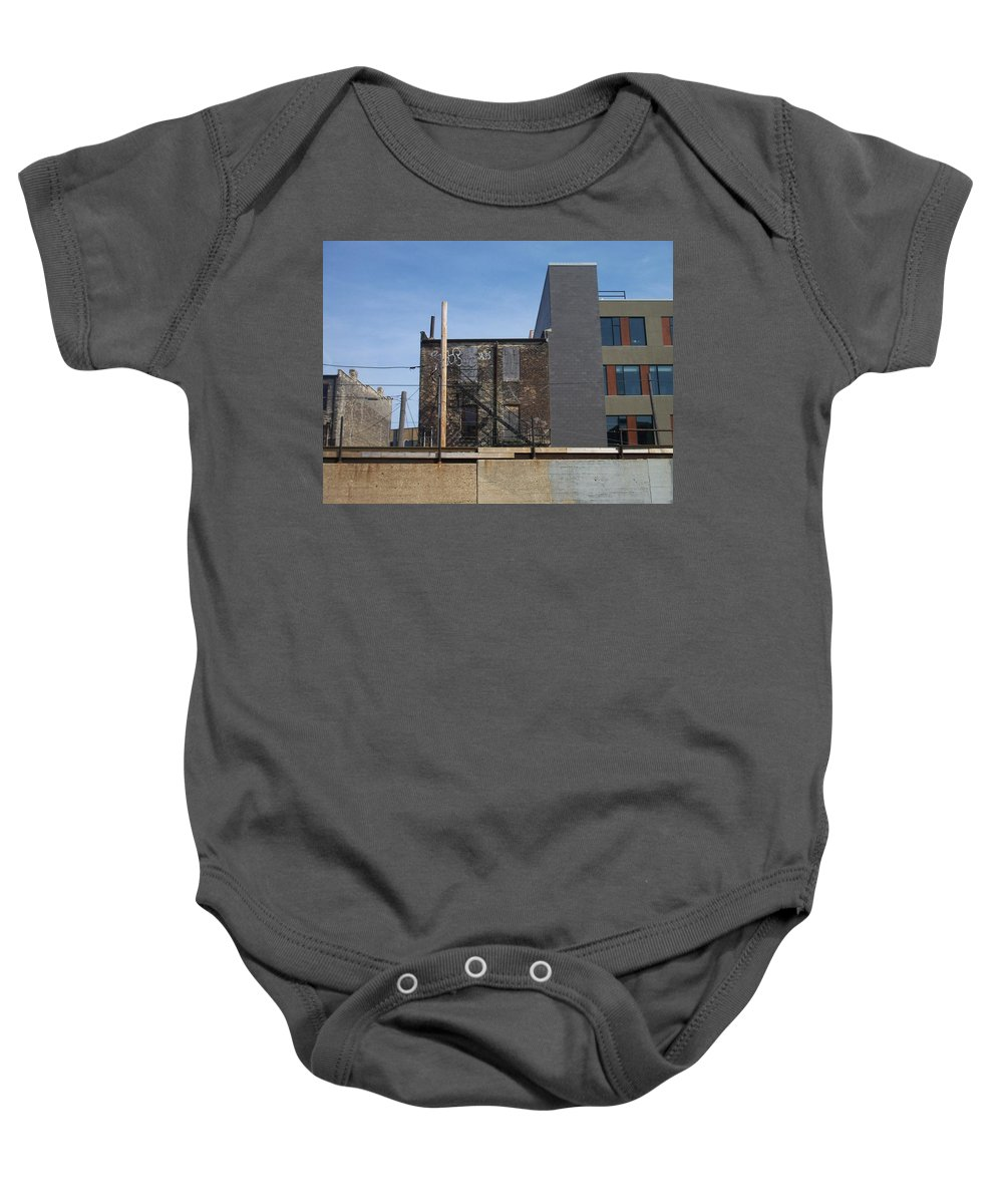 Walker's Point Baby Onesie featuring the photograph Walker's Point 2 by Anita Burgermeister