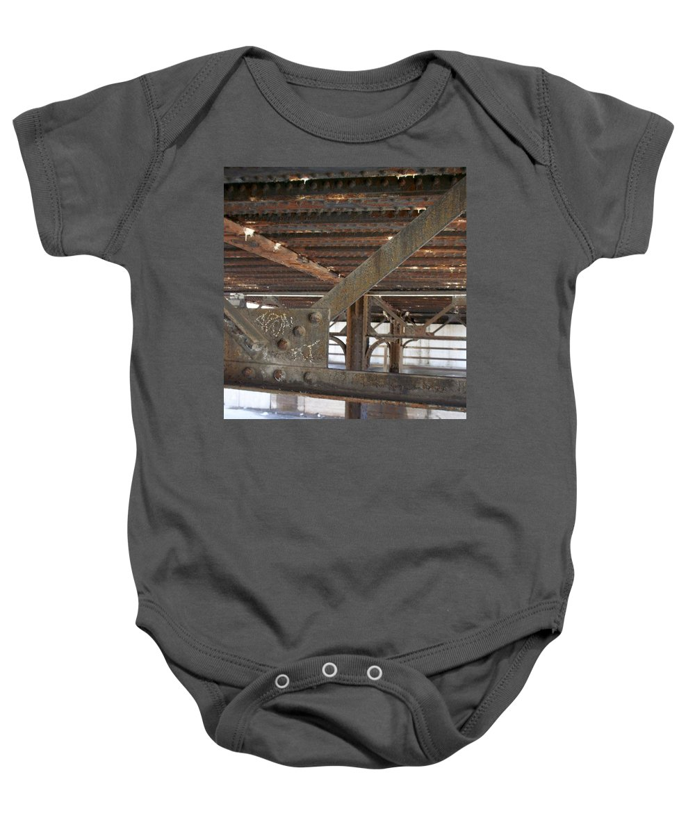 Walker's Point Baby Onesie featuring the photograph Walker's Point 6 by Anita Burgermeister