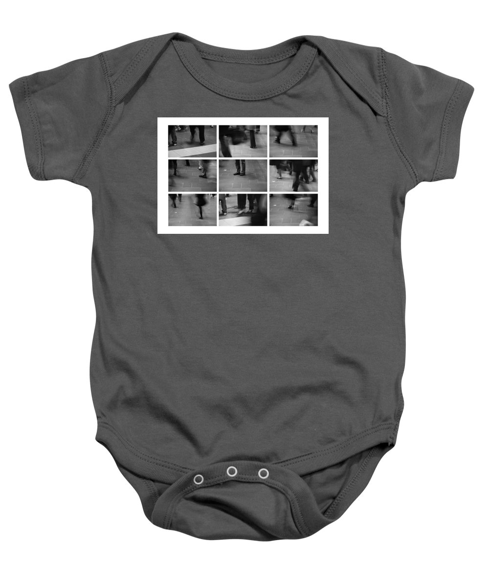 Strangers Baby Onesie featuring the photograph Wasting Time by Kelly King