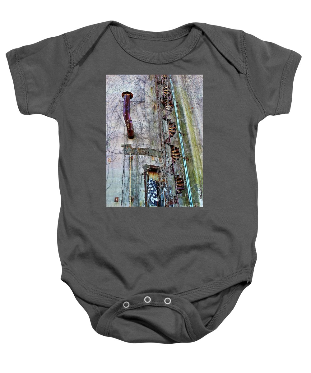 Landscape Baby Onesie featuring the photograph Watch Your Step by Christina M
