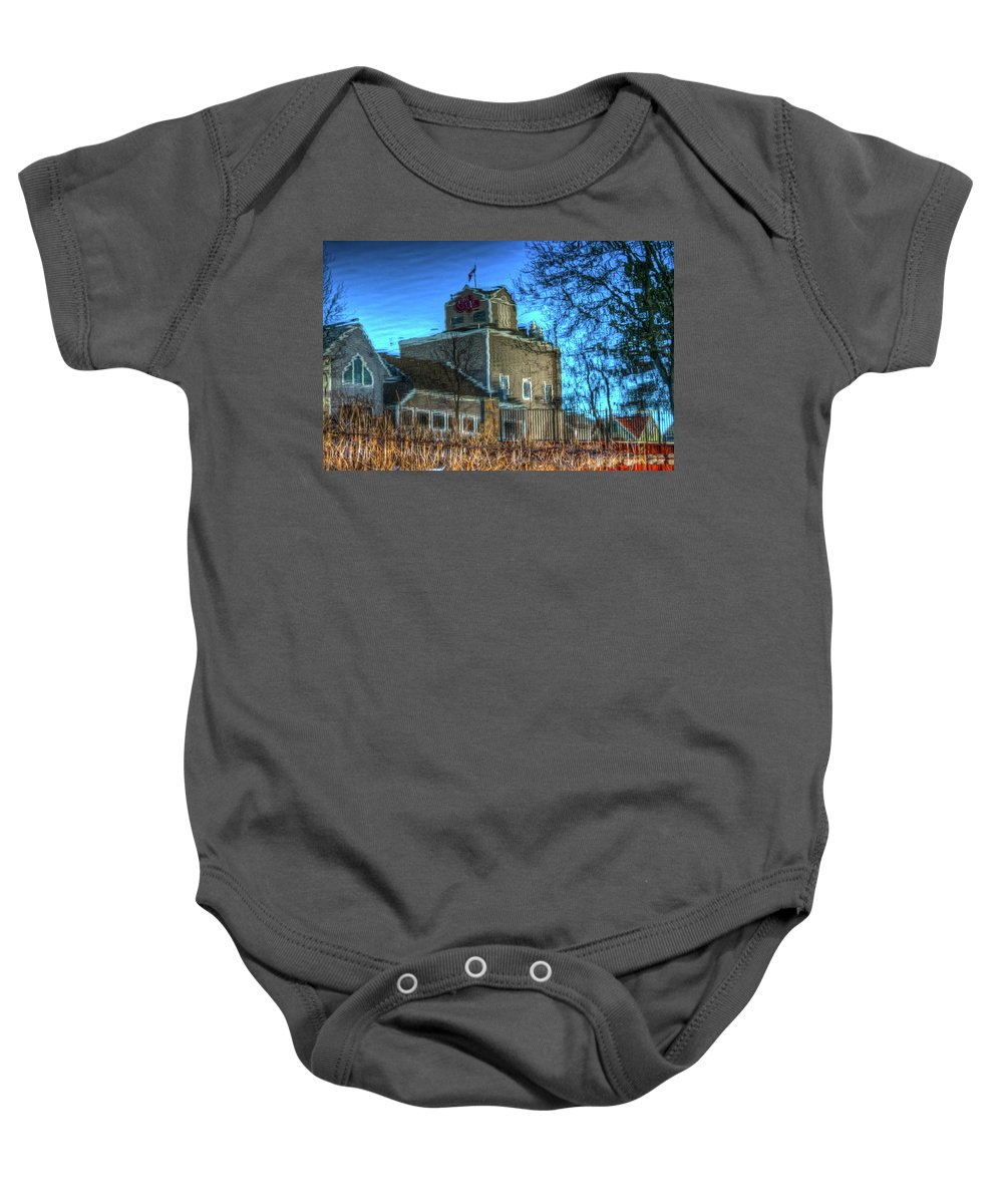 Reflection Baby Onesie featuring the photograph Water Color-2 by Robert Pearson