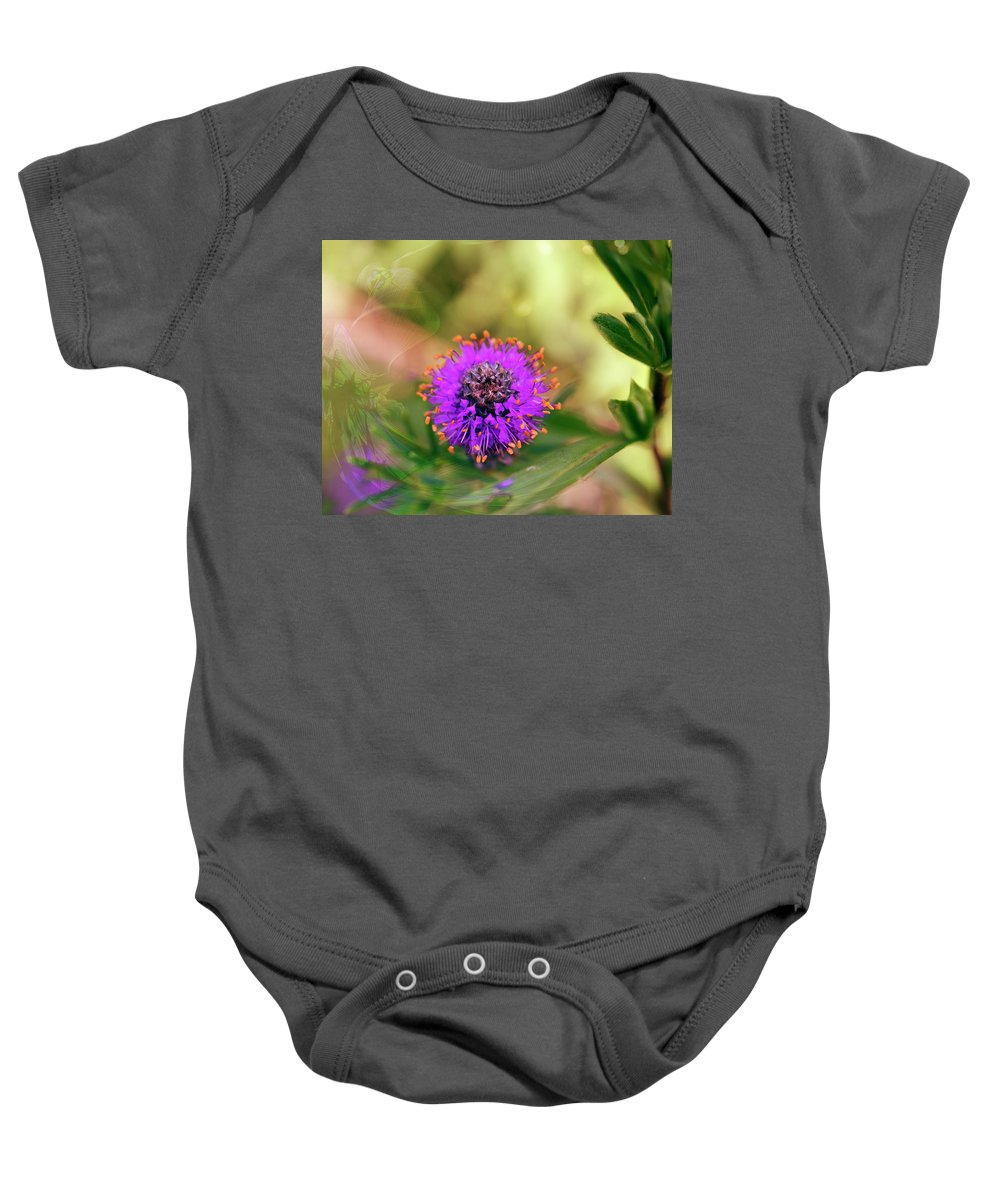 Flower Baby Onesie featuring the digital art Whimsical Nature by Jayne Gohr