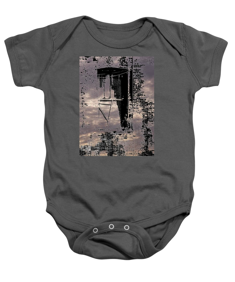 Window Baby Onesie featuring the photograph Window 3 by Tim Allen