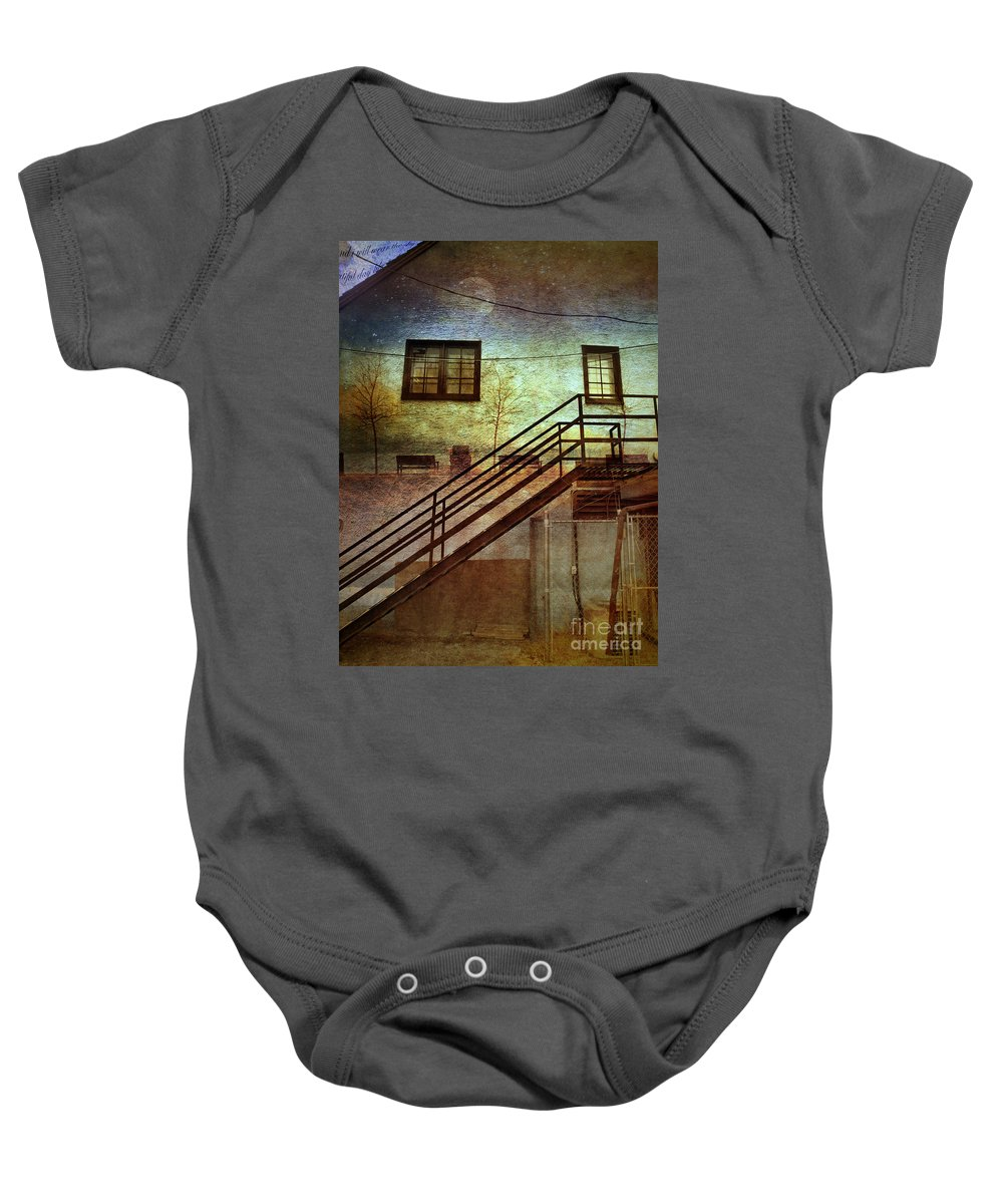 Wall Baby Onesie featuring the photograph Window Seat by Tara Turner
