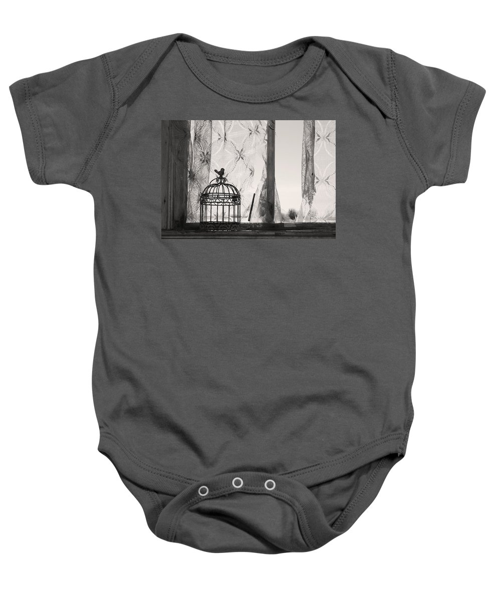 Landscapes Baby Onesie featuring the photograph Wings Remember by The Artist Project