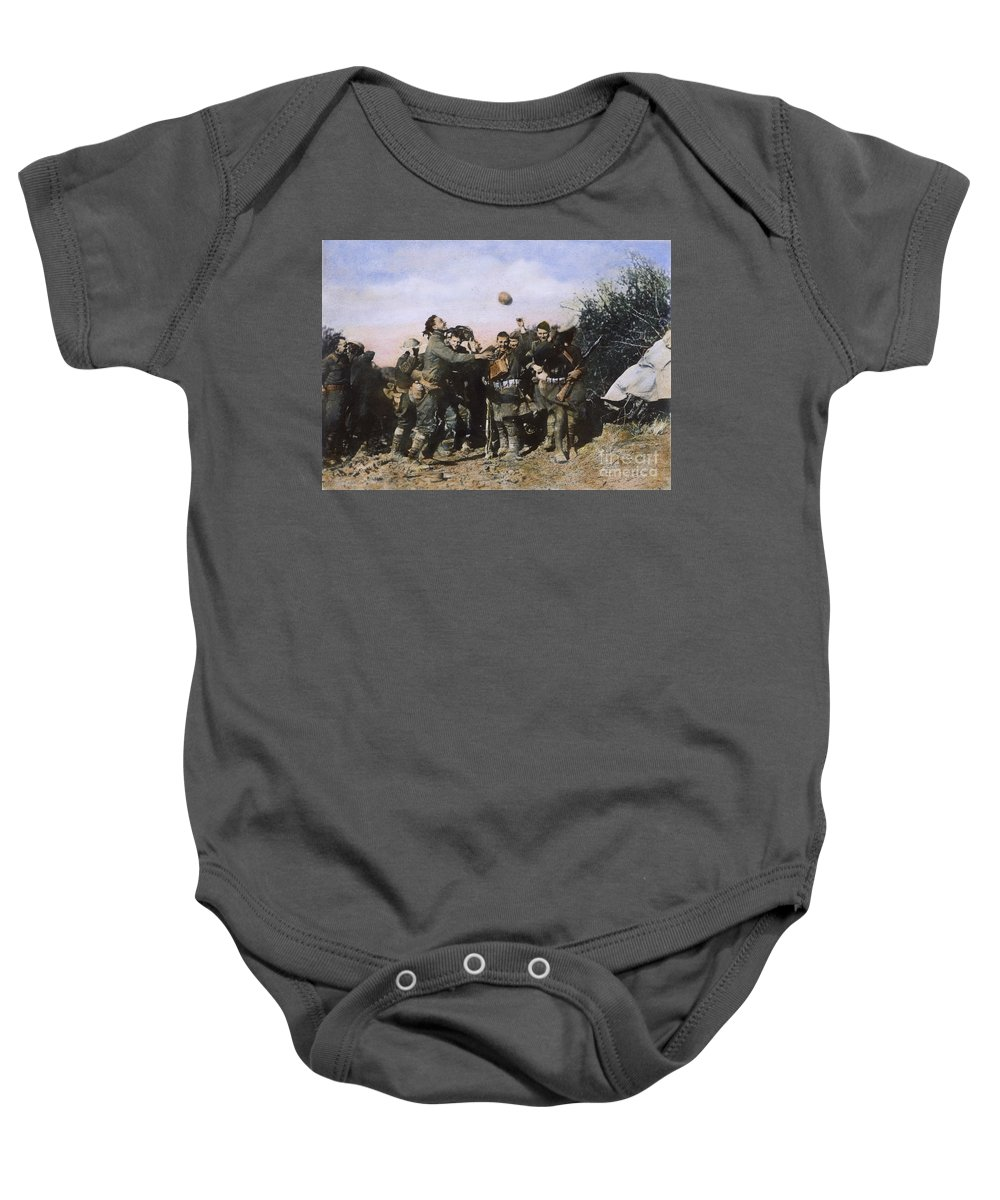 1918 Baby Onesie featuring the photograph World War I: Armistice by Granger