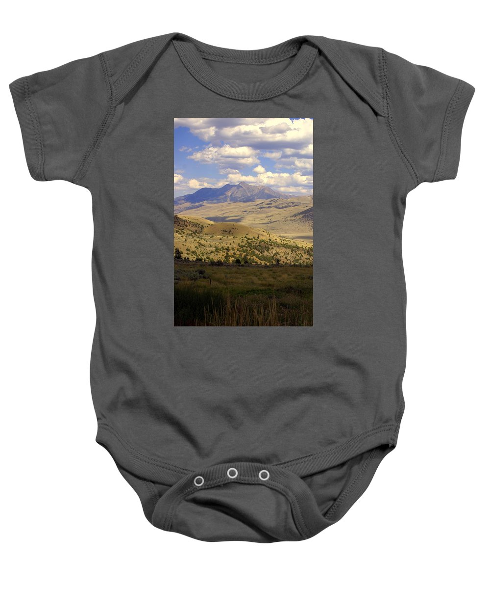 Yellowstone National Park Baby Onesie featuring the photograph Yellowstone View by Marty Koch