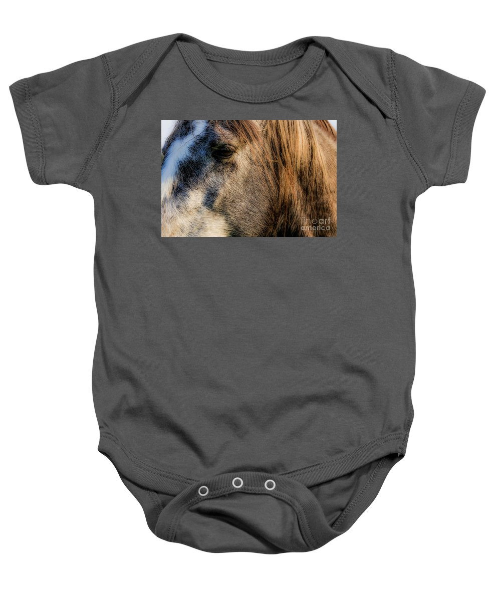 Missouri Ozarks Baby Onesie featuring the photograph Yesterday by Lynn Sprowl