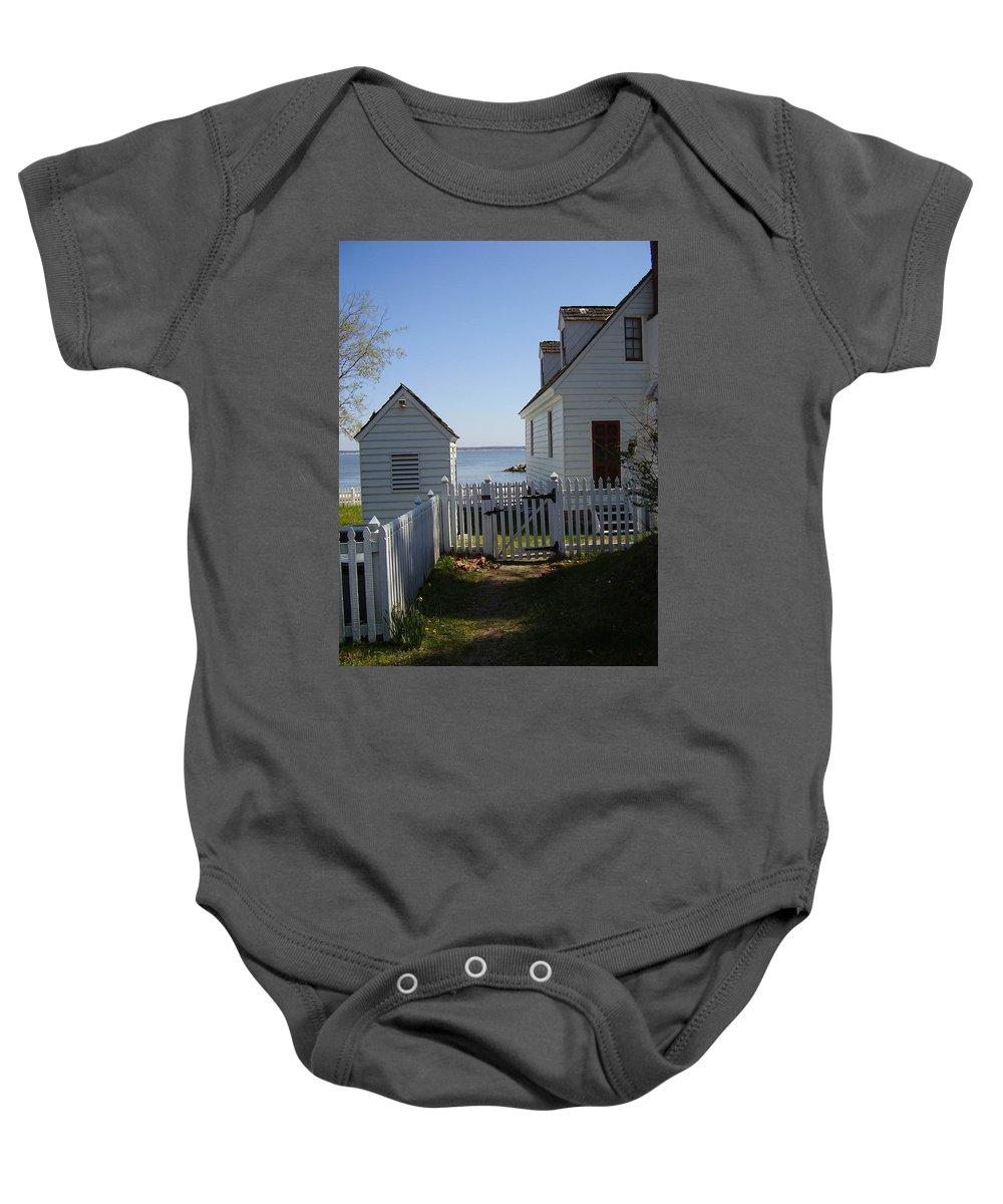 Yorktown Baby Onesie featuring the photograph Yorktown by Flavia Westerwelle