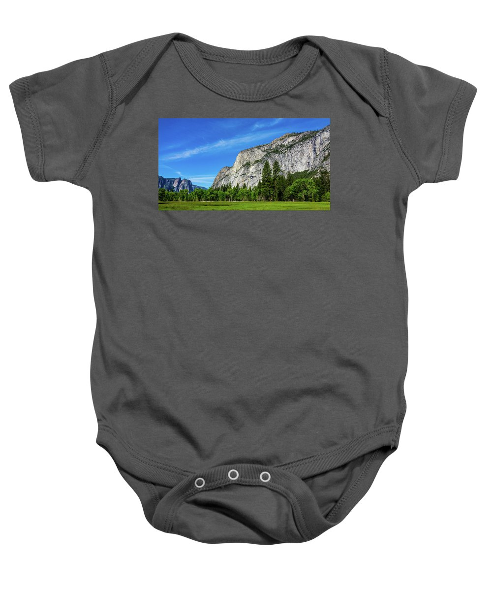 California Baby Onesie featuring the photograph Yosemite West Valley by Randy Herring