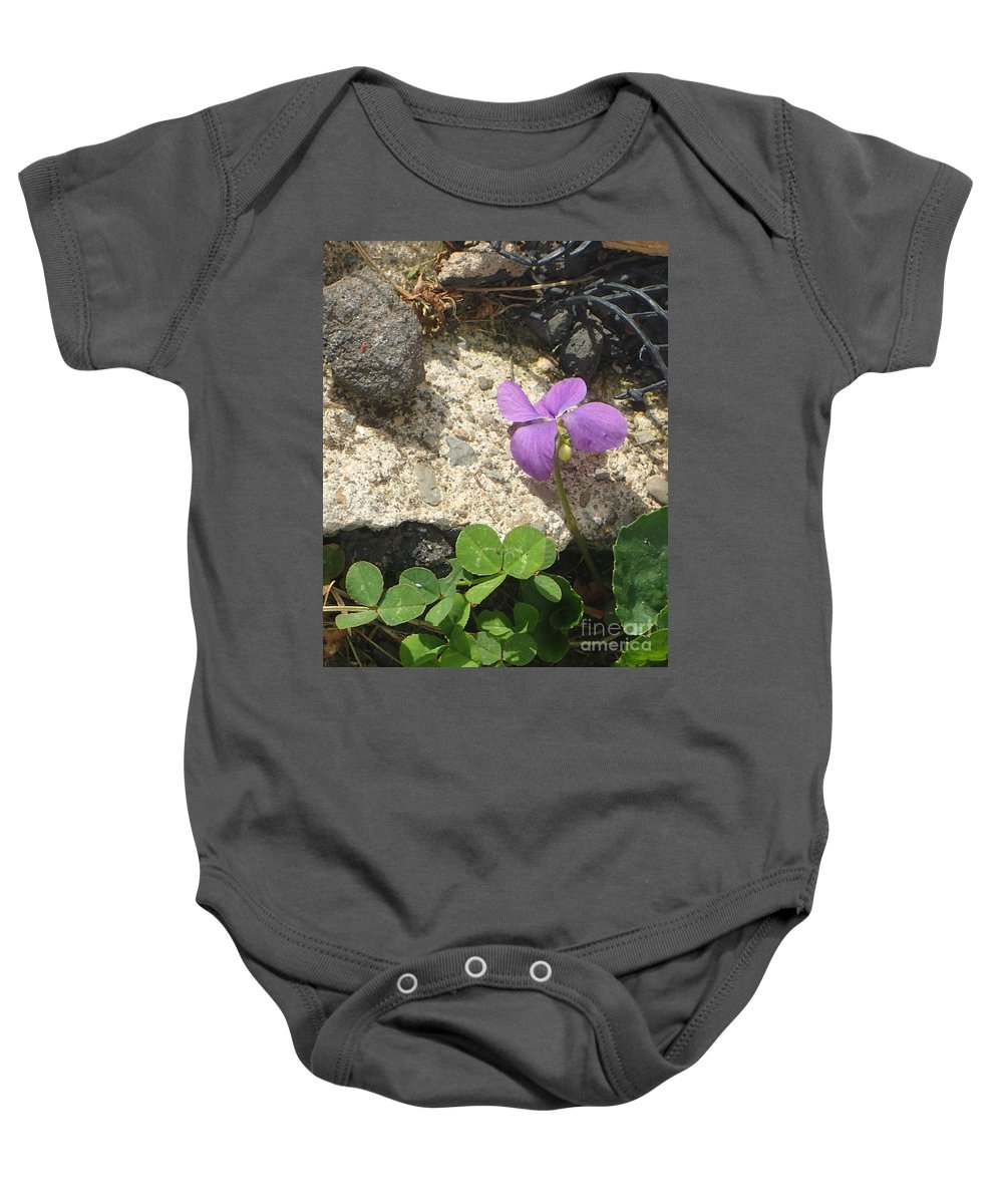 Flower Baby Onesie featuring the photograph You Can Do It by Christina Verdgeline