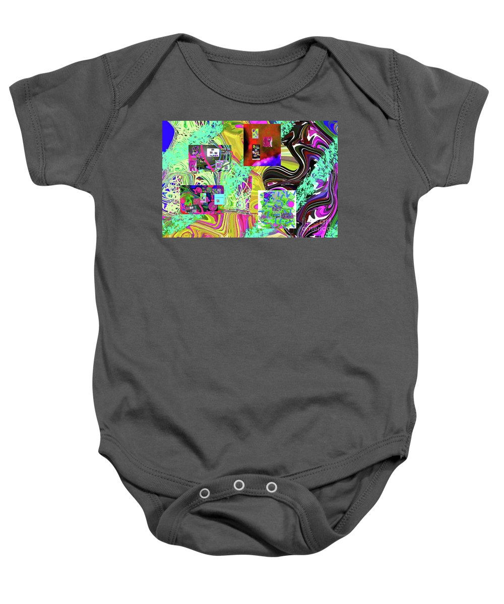Walter Paul Bebirian Baby Onesie featuring the digital art 11-8-2015babcdefghijklmnopqrtuvwxyzabcdefghij by Walter Paul Bebirian