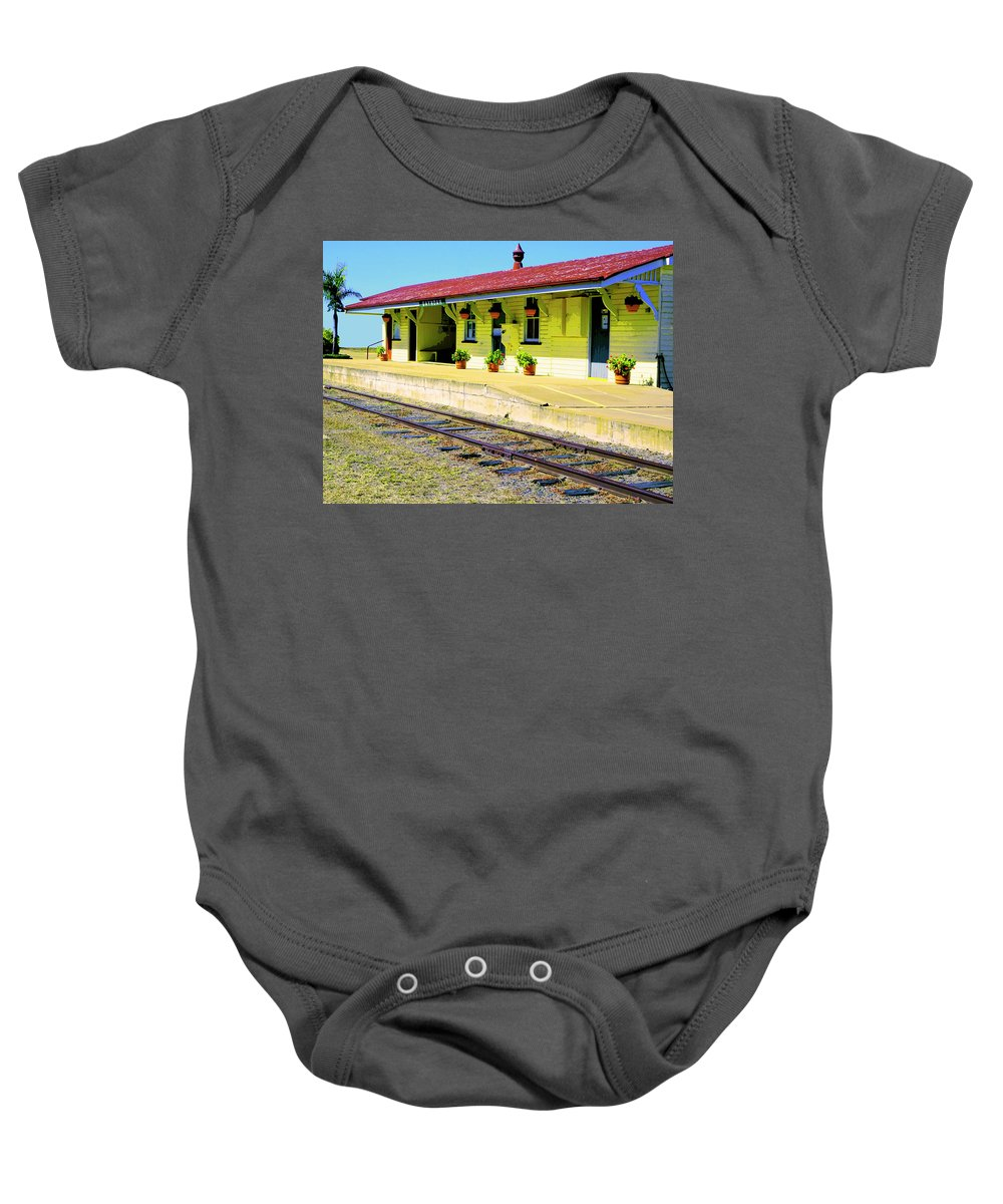 Gayndah Baby Onesie featuring the photograph Gayndah Station Down Under by Dominic Piperata