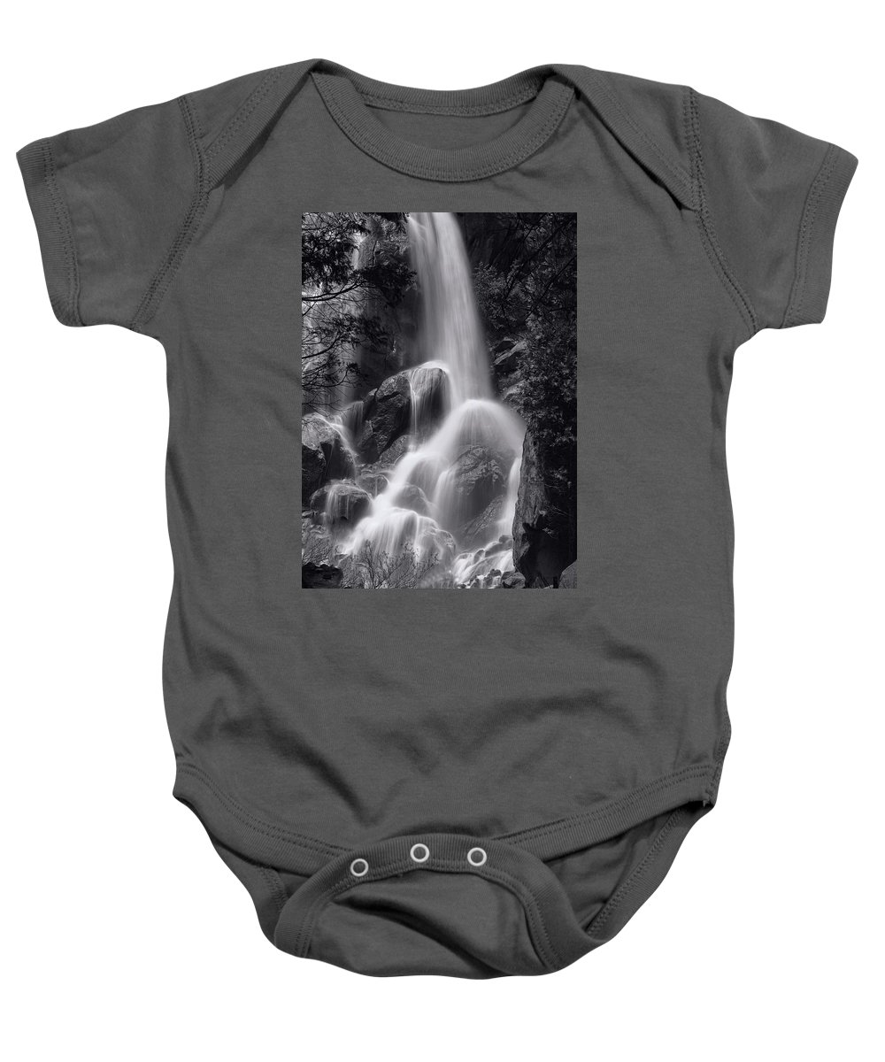 Kings Canyon National Park Baby Onesie featuring the photograph Grizzly Falls by Bill Thomas