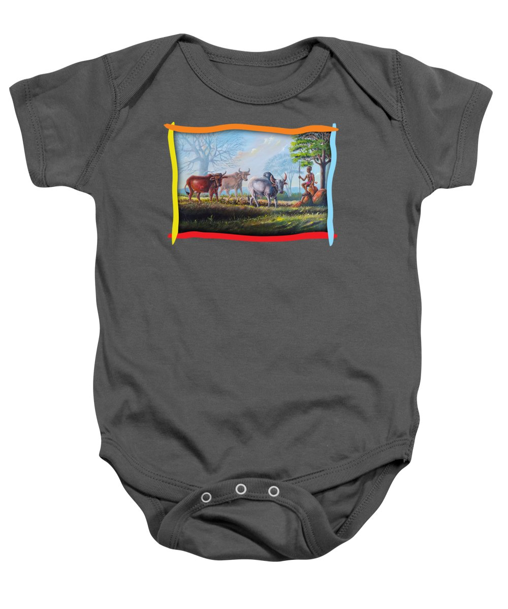 Agriculture Baby Onesies