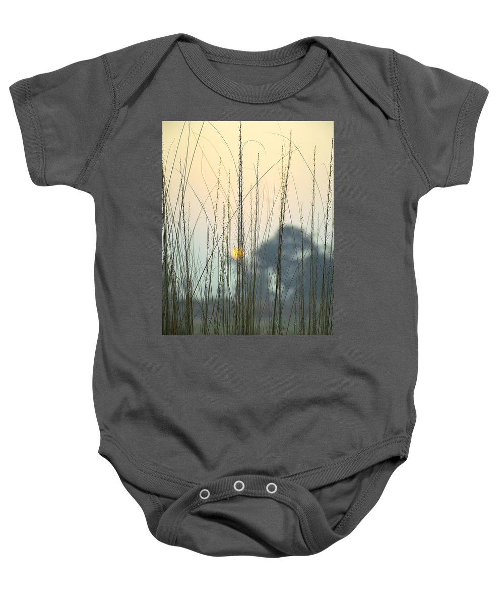 Landscape Baby Onesie featuring the photograph morning Star by Ravi Bhardwaj