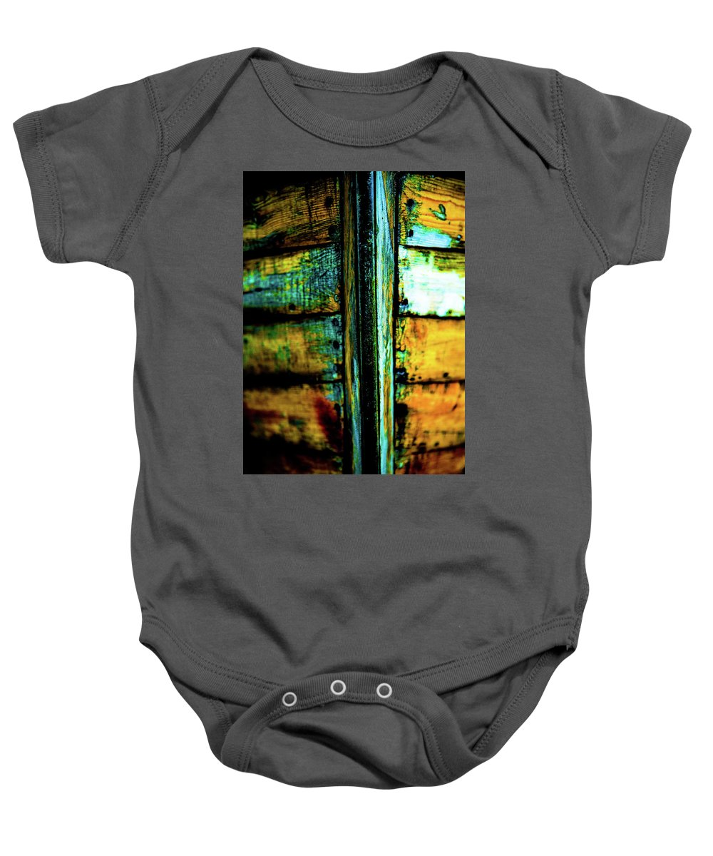 Prow Baby Onesie featuring the photograph Old Prow by Hakon Soreide