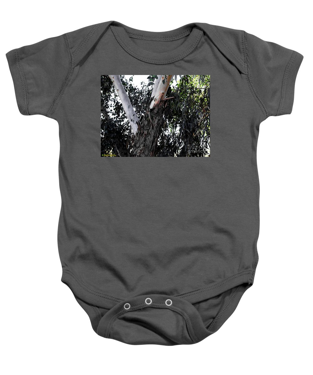 Bark Baby Onesie featuring the photograph Pealing Back by Darryl Treon