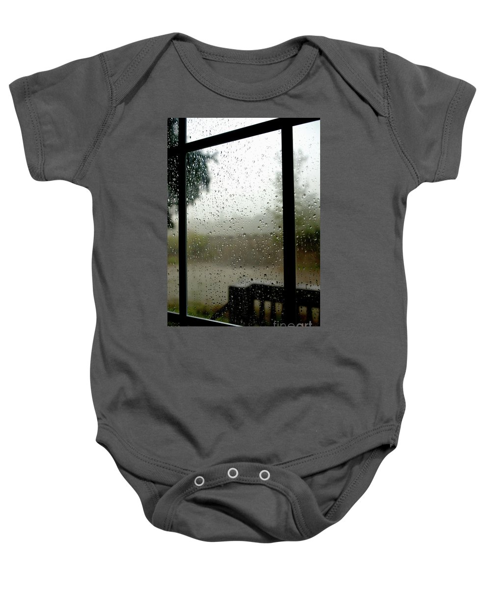 Rain Baby Onesie featuring the photograph Summer Storms by Jesse Ciazza