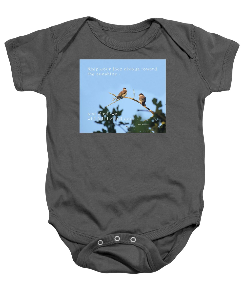 Baby Onesie featuring the photograph Uplift by Dennis Love