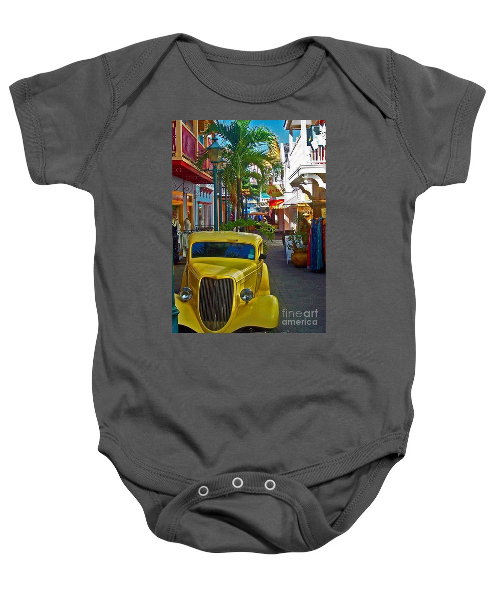 St. Martin Baby Onesie featuring the photograph Nice Ride by Debbi Granruth