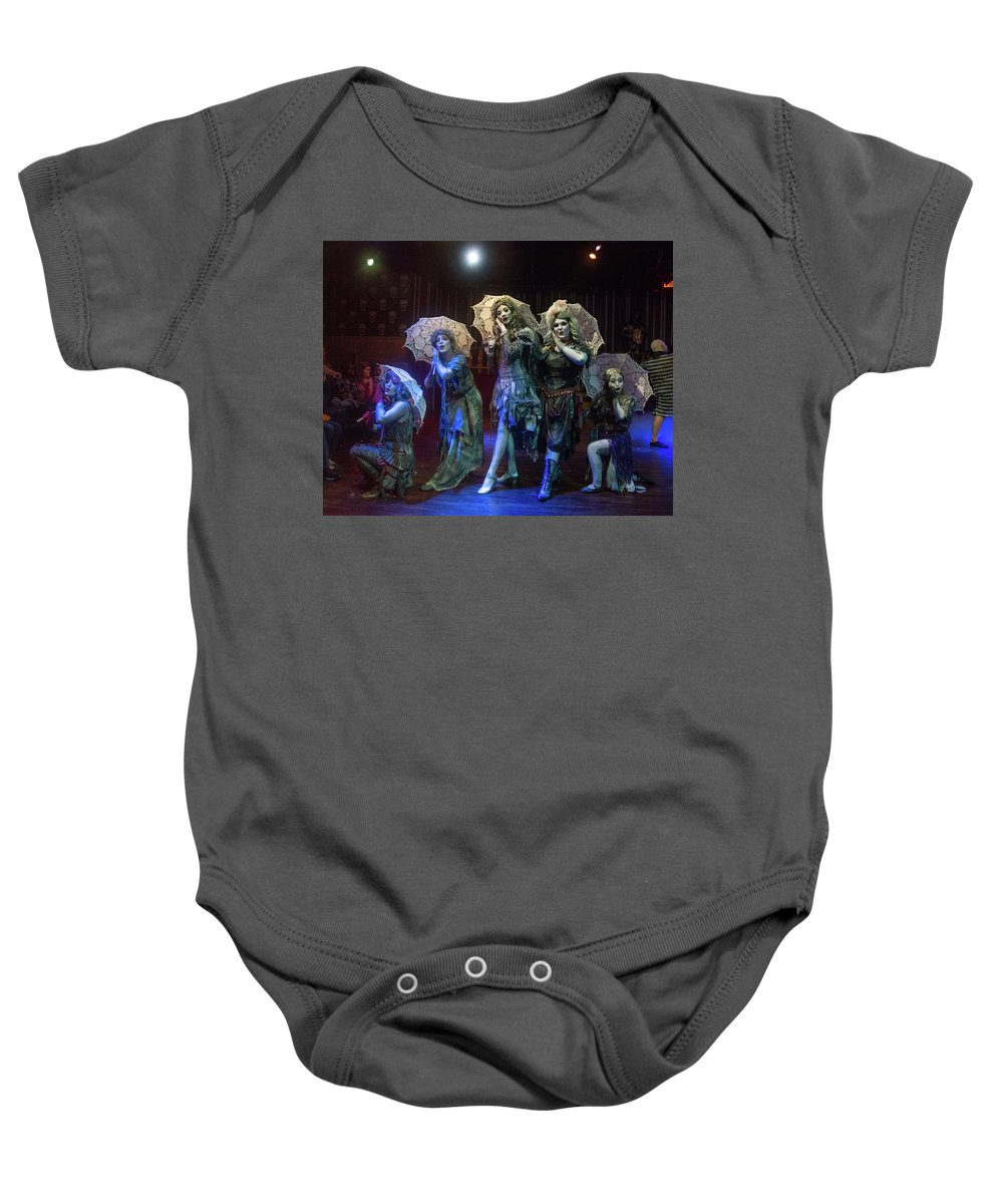 Adams Family Baby Onesie featuring the photograph Adams Family the Ancestors by Alan D Smith