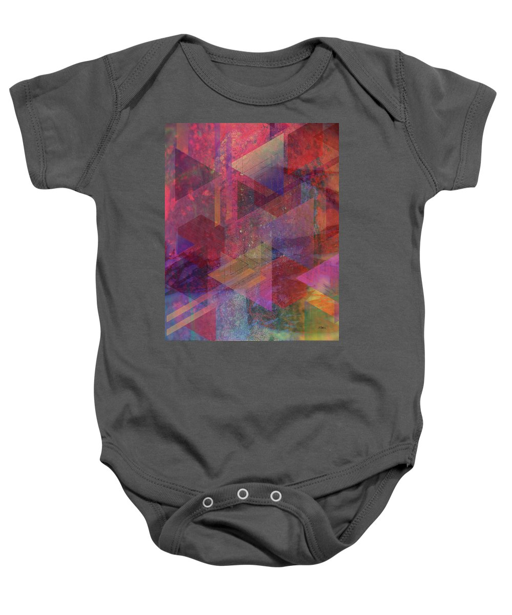 Another Place Baby Onesie featuring the digital art Another Place by Studio B Prints