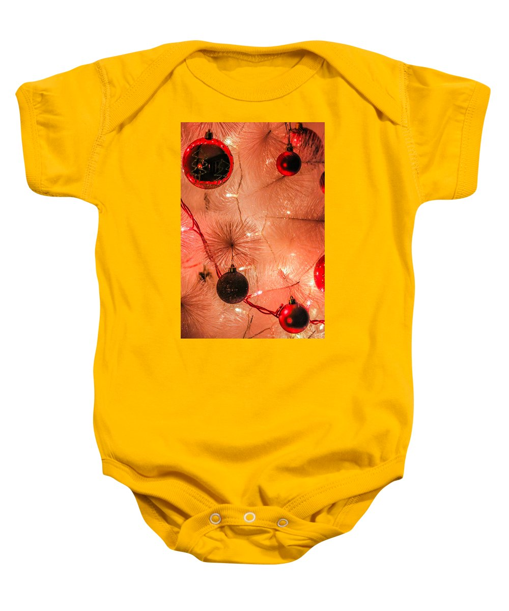 Christmas Baby Onesie featuring the photograph Christmas Tree by Ernesto Santos