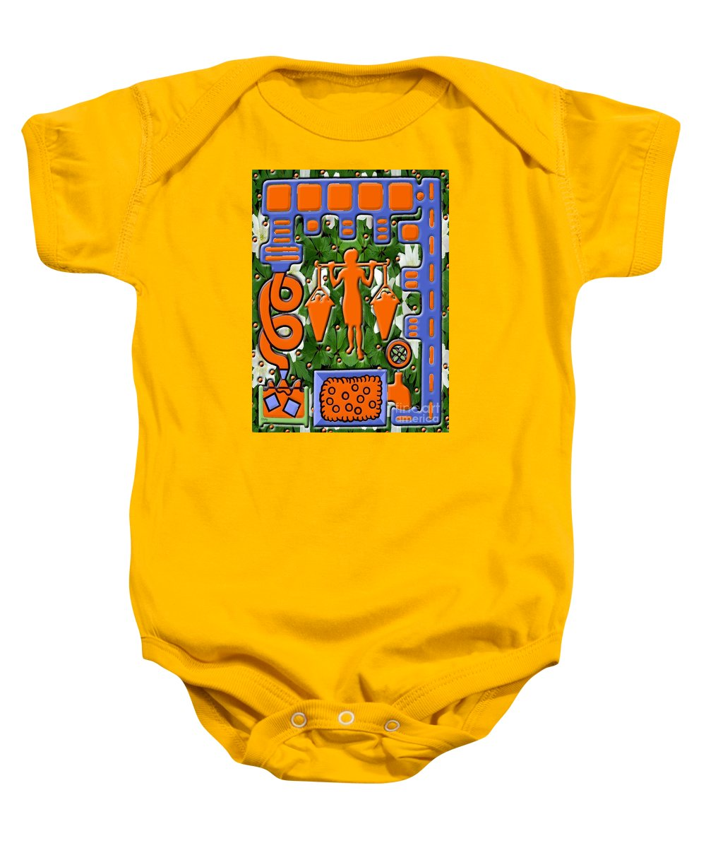 Food Baby Onesie featuring the painting Juice by Patrick J Murphy