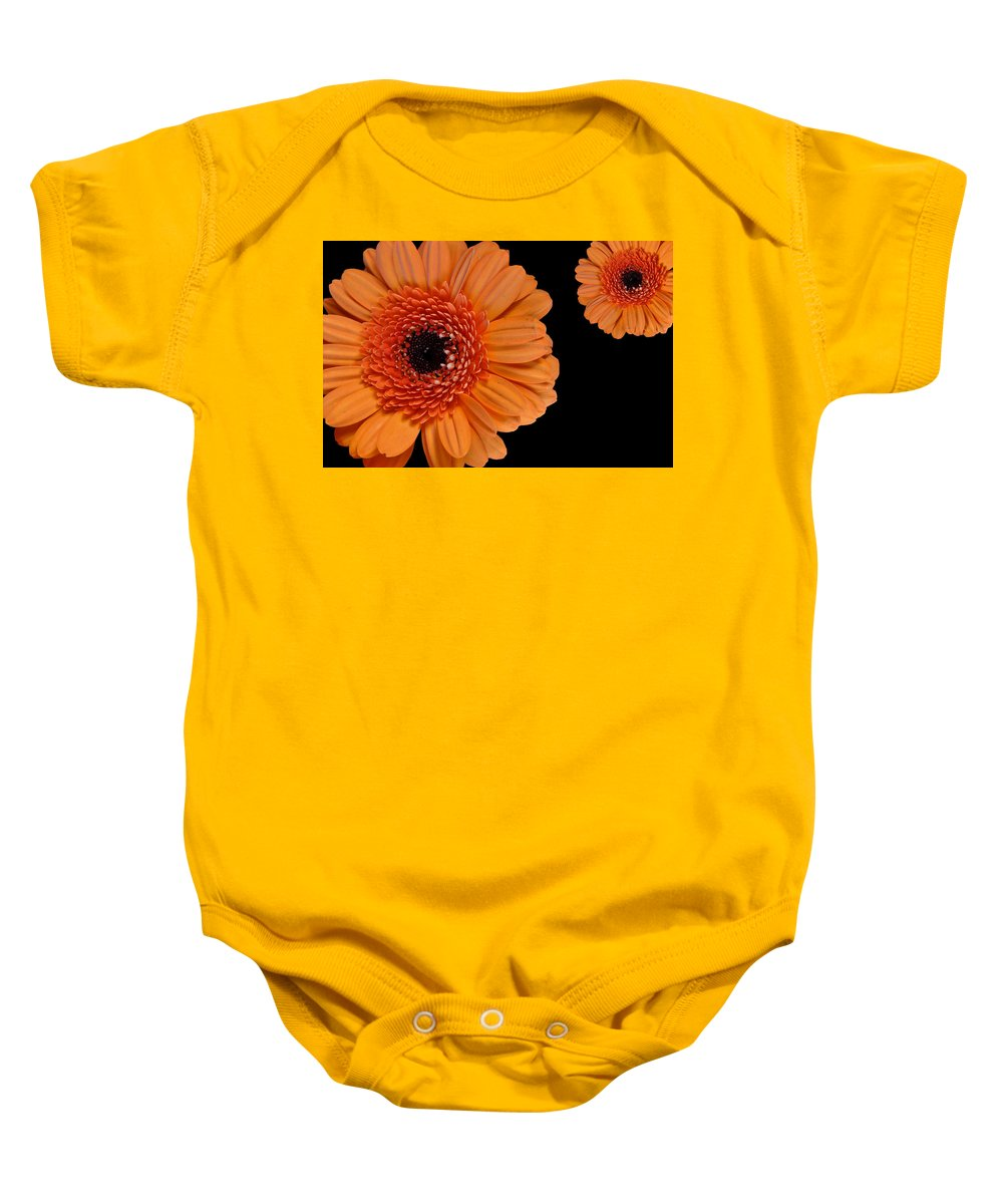 Two Baby Onesie featuring the digital art Two Orange by Nathan Wright