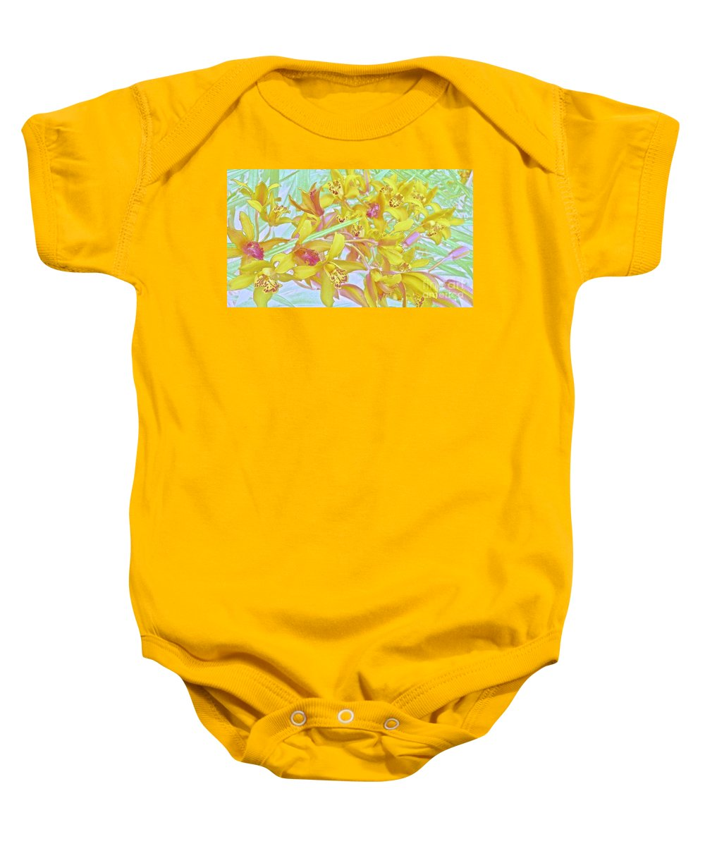 Maui Baby Onesie featuring the photograph Giggling Watercolor Photography by Cheryl Cutler