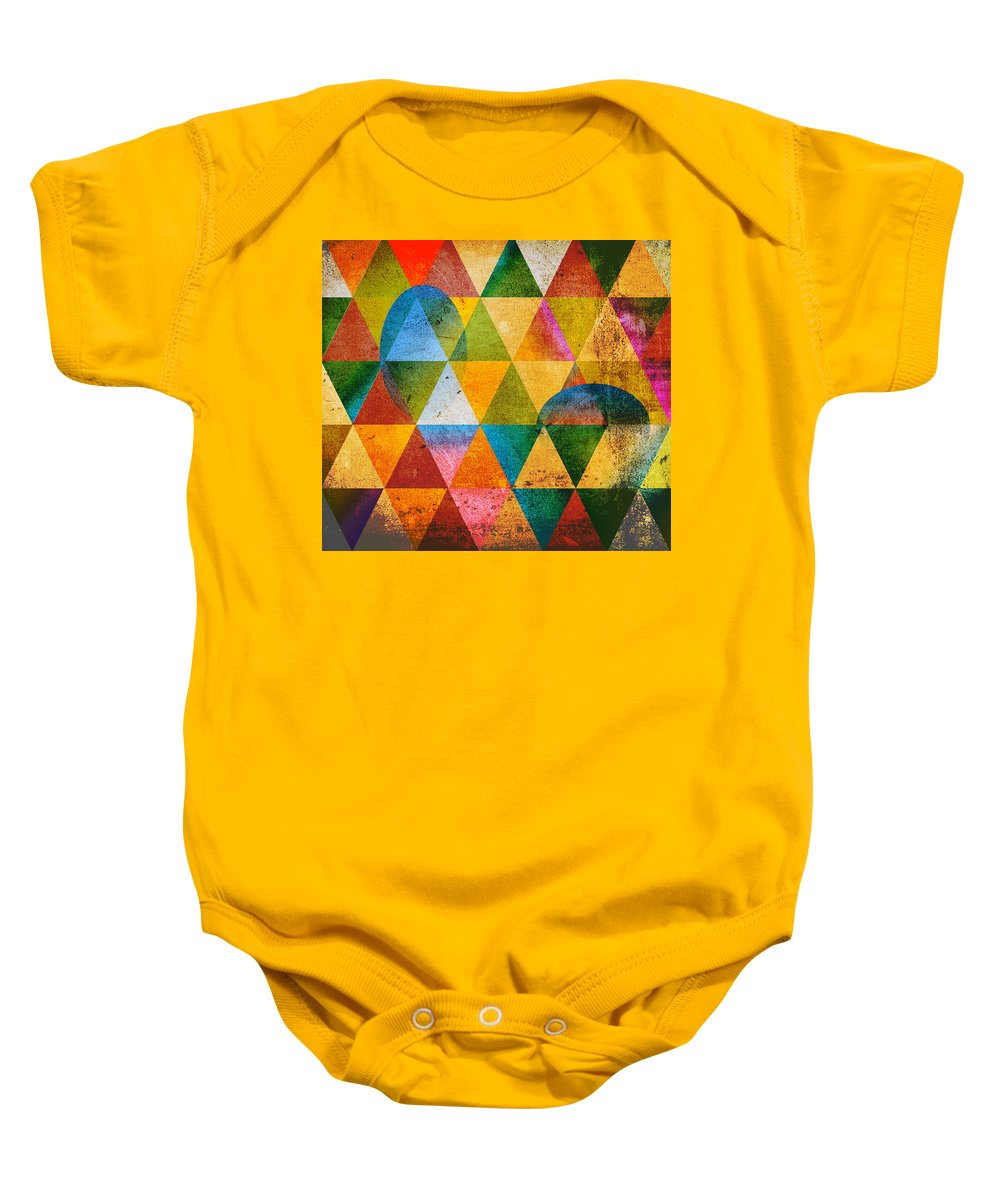 Contemporary Baby Onesie featuring the digital art Contemporary by Mark Ashkenazi