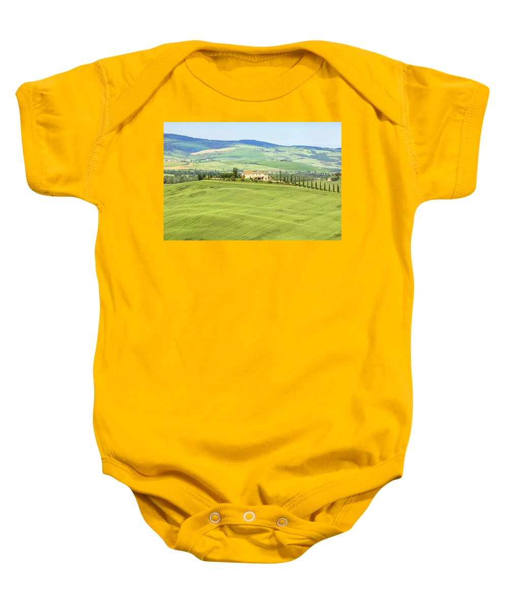 Pienza Baby Onesie featuring the photograph Tuscany - Val D'orcia by Joana Kruse